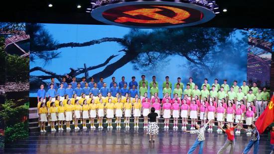 第四乐章之临沧市农业学校代表队 《春天到万家》