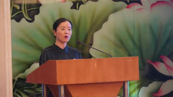 丽江市文化和旅游局作致辞