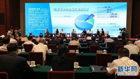 活动现场,七位嘉宾开展交流讨论(9月29日摄)。新华网 刘云 摄