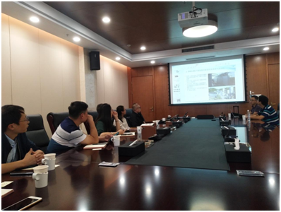 云南水务接见法国ENOGIA公司,开展项目合作洽谈与交流