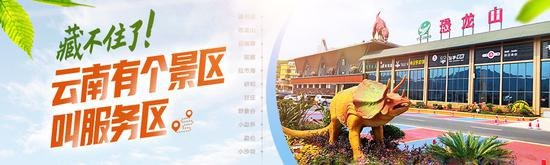 """云南有个景区叫服务区丨景甜点赞的""""五一""""爆款旅游目的地原"""