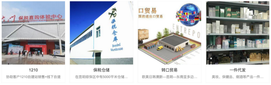 云南环瀛跨境电子商务有限公司服务项目