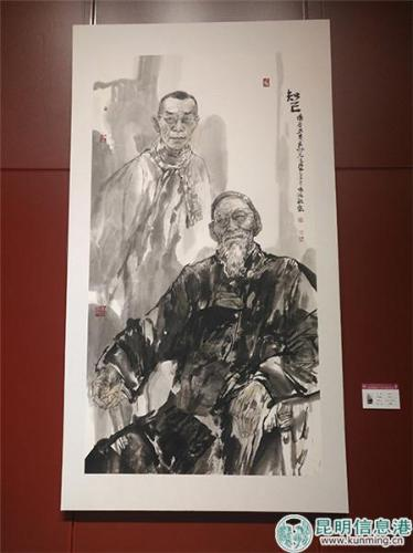 张波-《知己》-中国画