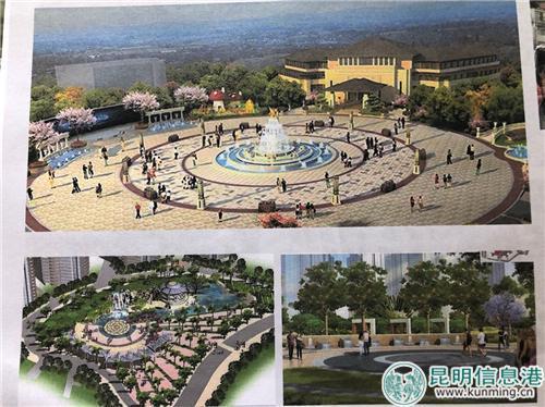 规划中未来社区将建设小广场。
