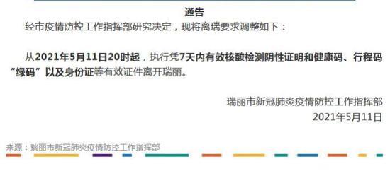 云南瑞丽市委宣传部微信公众号截图
