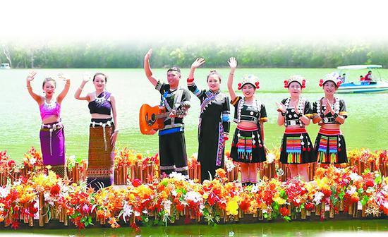 定波湖水上音乐节