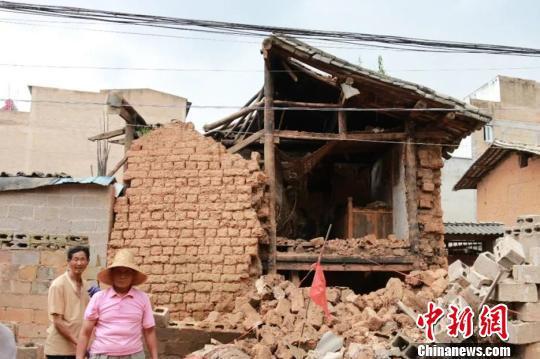 图为2018年云南自然灾害资料图。云南省减灾委办公室提供