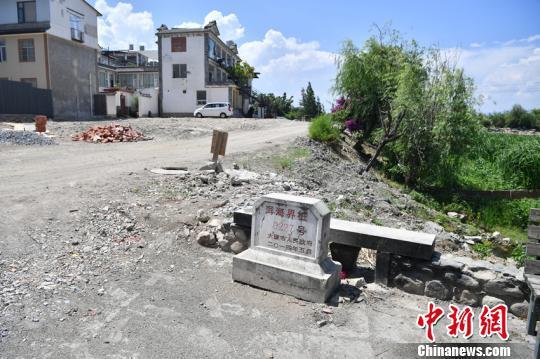 图为整治后的才村。 刘冉阳 摄