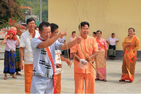 傣族篾弹弓项目