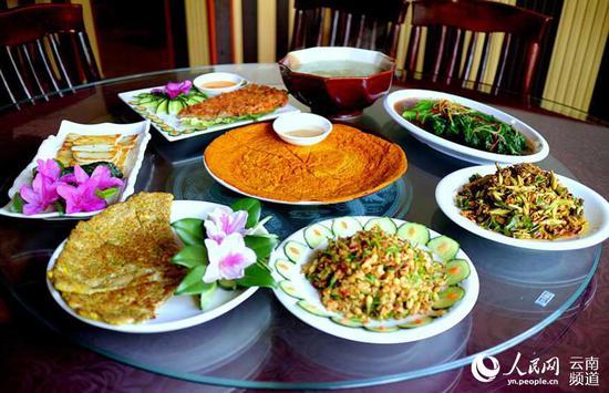 石苑饭店野菜宴