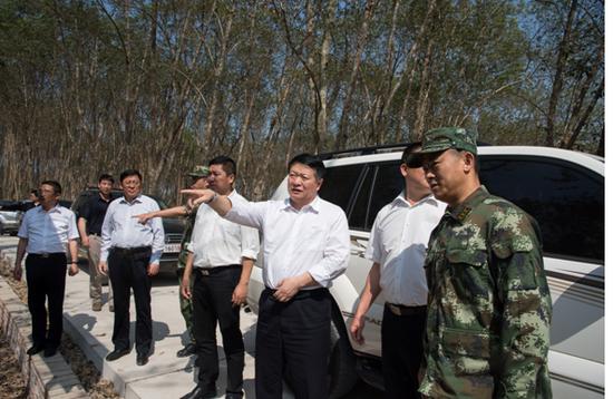 云南省公安厅郭宝副厅长检查指导立体化边境防控体系建设