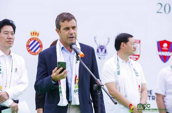 西班牙MNC地中海杯主席阿尔贝托-维纳斯