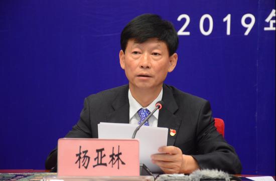 中共昭通市委书记杨亚林发布新闻(记者 赵嘉 摄影)