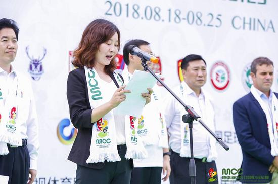 昆明市文化广播电视体育局局长戴彬致辞