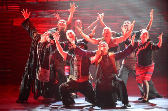 音樂劇《阿佤人民再唱新歌》首演引發社會關注 好評如潮!