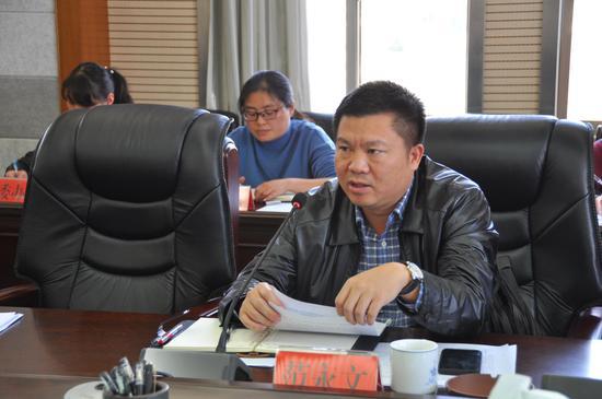 县委副书记范永文讲话