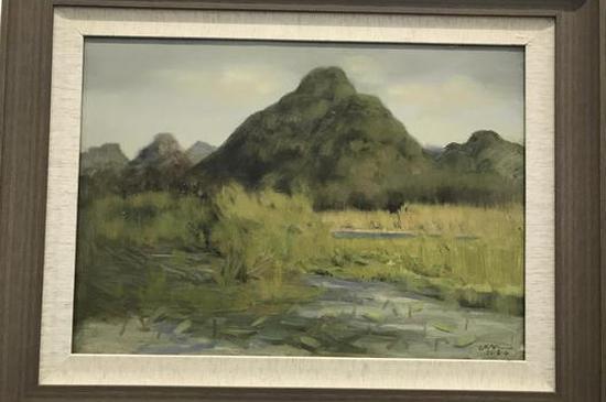 山地回响——陈晓鸣油画作品展昆明开幕