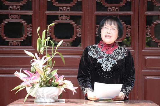 云南省茶文化博物馆馆长曾丽云
