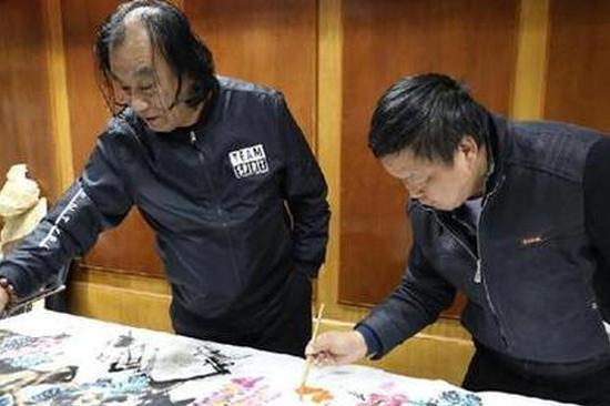 云南省委组织书画名家走进会泽