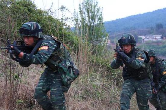 直击云南特战队员山林地7天6夜超极限训练