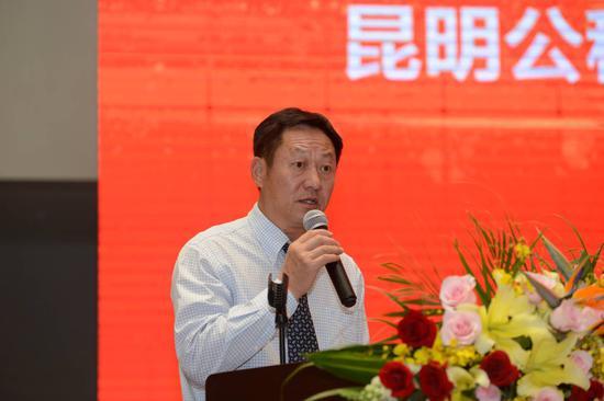 昆明市公租房公司党委书记、董事长胡斌致辞