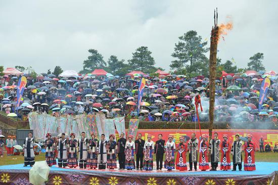 2018石林火把狂欢节8月6日开幕 开幕