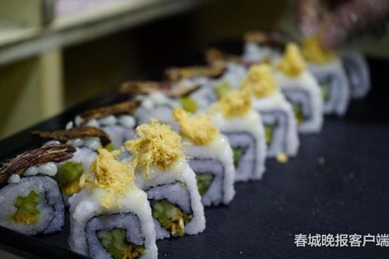 八宝贡米寿司