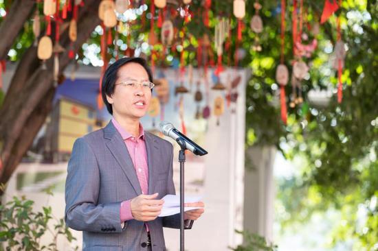 星巴克中国公共事务副总裁崔复秋致辞