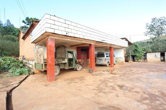 干净整洁的村民住宅外景