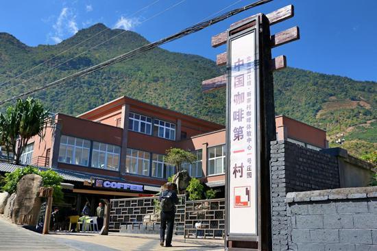 新寨村咖啡体验中心一号庄园(王娅男 摄)