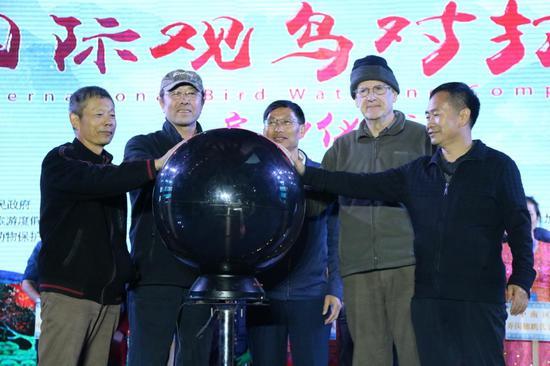 第三届高黎贡山国际观鸟节启动仪式(杨梅梅/摄)