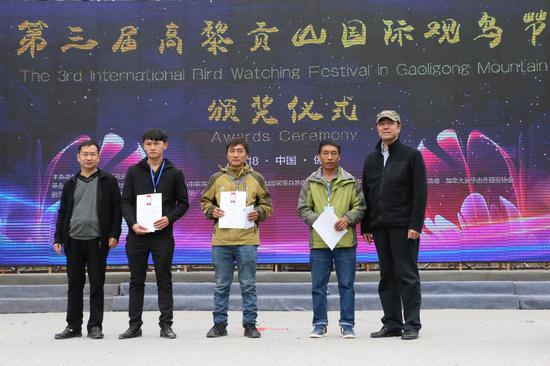 血雀代表队,左起:范先发、刘集、刘占海(王娅男/摄)