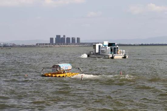 水动力设备和加压控藻船