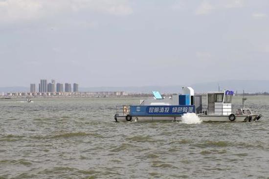 加压控藻船