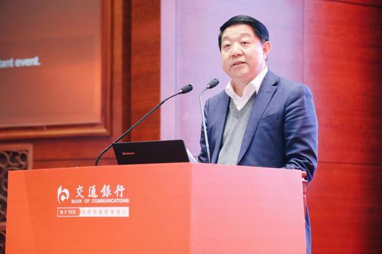 中铝集团总经理助理、中国铜业有限公司总裁许波发言