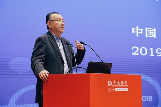 交银投资董事长郑志扬作业务推介