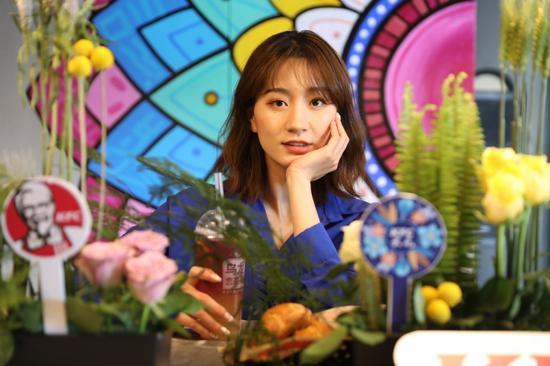花团锦簇的肯德基云花文旅主题餐厅