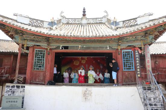 古戏台(王娅男/摄)
