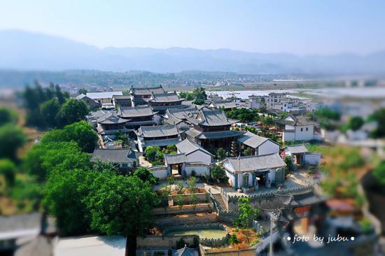 滇西现存规模最大、三教合一的保山光尊寺(何新闻/摄)