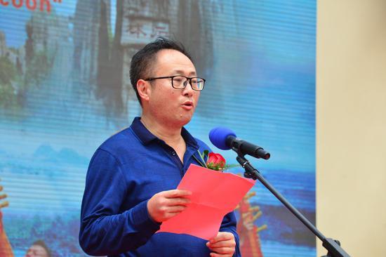 苏云波副县长在开幕式上致欢迎词