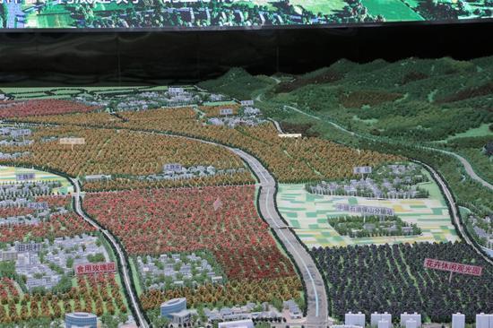 万亩生态观光农业园规划模型