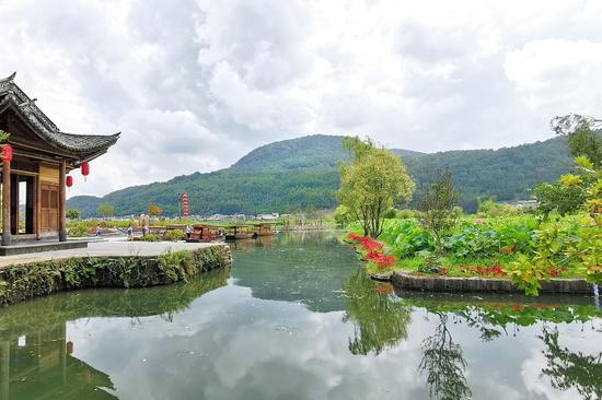 水清岸绿的和顺河(王娅男/摄)