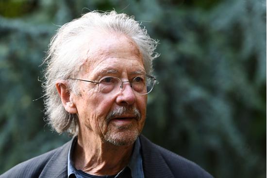 2019年诺贝尔文学奖得主彼得·汉德克 视觉中国供图