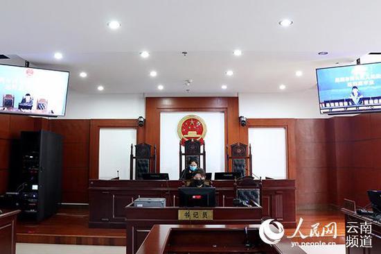 庭审现场。(供图)
