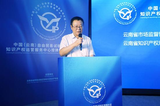 云南省市场监督管理局党组成员、云南省知识产权局局长方涛局长作出重要讲话