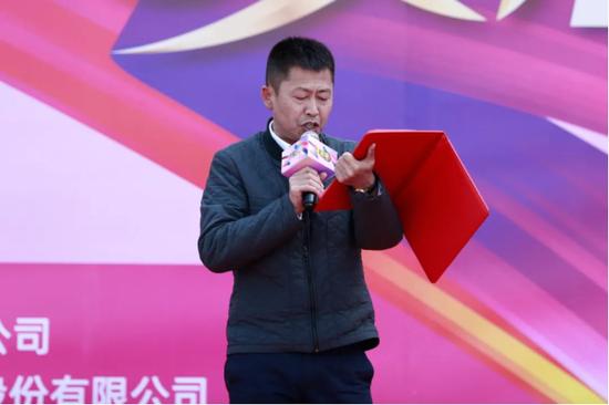 云南白药集团药品事业部云南省区商务板块省区经理李勇先生致辞