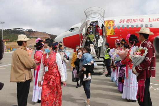 今日首航!泸沽湖机场开通普洱、广州两条航线