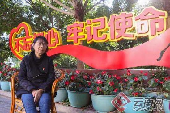 丽江市华坪县女子高级中学校长张桂梅。