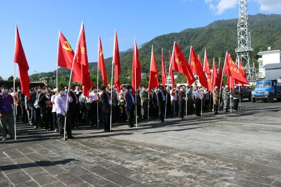 """云南腾冲:""""疫线""""临时党支部作用""""不临时"""""""