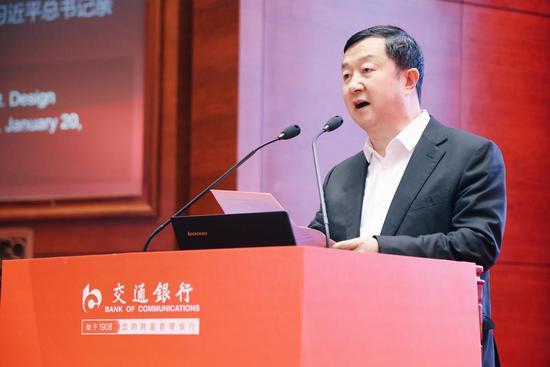 中国铁建股份有限公司副总裁李宁发言